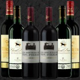 Coffret de 6 Saint Emilion Grand Cru