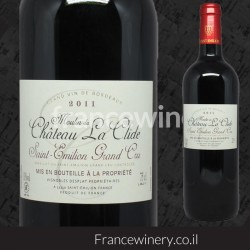 Saint Emilion Grand Cru Moulin Du Chateau La Clide 2011
