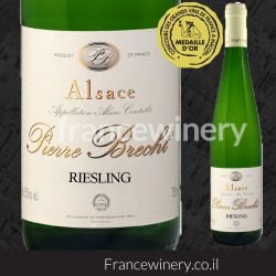 ALSACE RIESLING MEDAILLE D'OR PIERRE BRECHT